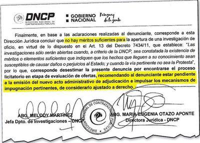 Denuncian ante DNCP supuesto modus operandi para violar pliego del MOPC