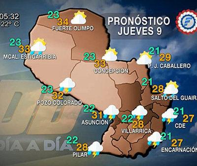 Lluvias continuarán durante la mañana de hoy
