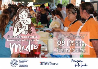 MAG realiza hoy su feria agropecuaria en Homenaje al Día de la Madre