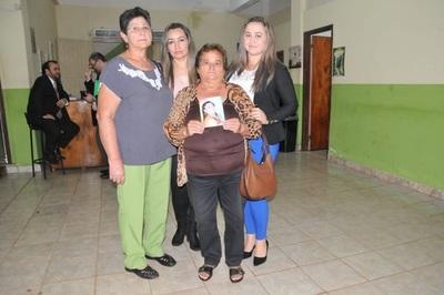 Familiares de Mariza Aguayo piden 30 años de cárcel para exconcejal de Minga Guazú