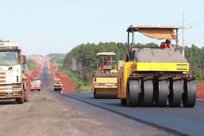 Rehabilitarán y pavimentarán tres tramos de 58 kilómetros en el departamento de Itapúa