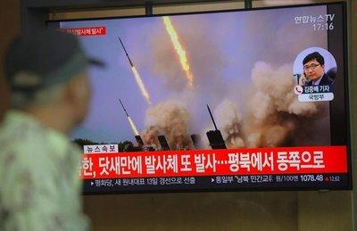 Corea del Norte dispara proyectiles mientras emisario de EE.UU. visita Seúl