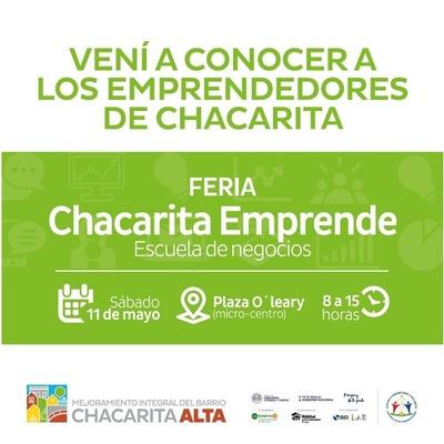 Emprendedores de la Chacarita presentarán proyectos innovadores
