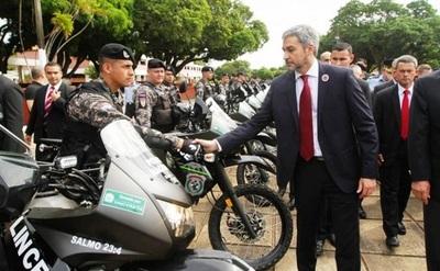 Grupo Lince tendrá 500 agentes más y 100 nuevas motos