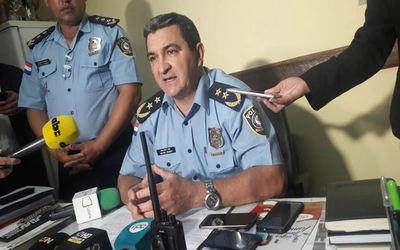 Policía Nacional acompaña a familiares del secuestrado Edelio Morínigo