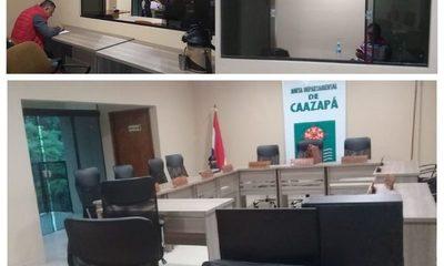 Junta Departamental de Caazapá habilita Sala de Prensa