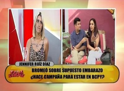Tenso momento entre Carmiña Masi y Jennifer Ruiz Diaz