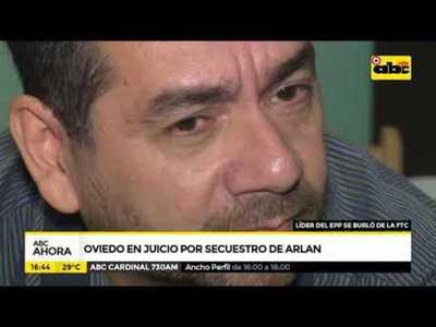 Cuarto día de juicio a Oviedo por secuestro de Arlan