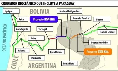 Anuncian financiamiento total del Corredor Vial Bioceánico