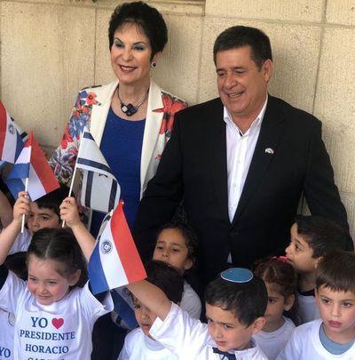 Nuevo reconocimiento a Horacio Cartes en Israel