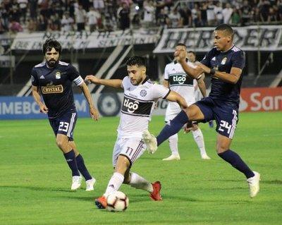 Olimpia cede su invicto ante Sporting Cristal