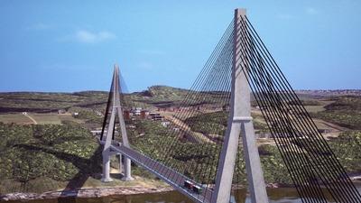 Propulsores paraguayos del segundo puente sobre el Paraná celebran inicio de las obras