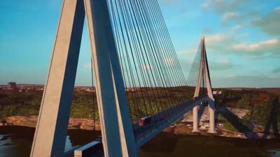Jefe de Estado participa hoy de la colocación de la piedra fundamental para el segundo puente con Brasil