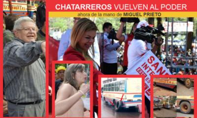CHATARREROS EN EL GABINETE DE PRIETO, primer gran error.