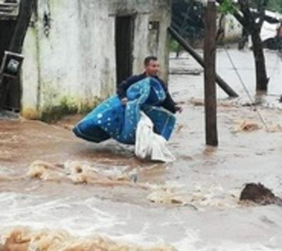 Diluvio en Misiones: Declaran emergencia distrital en San Ignacio