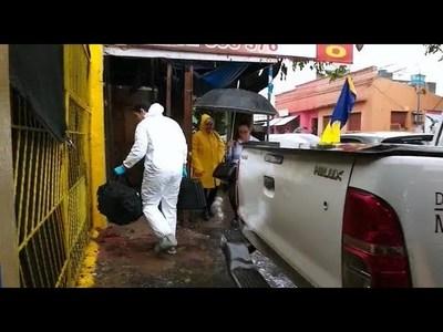 CASO VERÓN: LABORATORIO FORENSE INTERVIENE LAVADERO DE BRASILEÑO