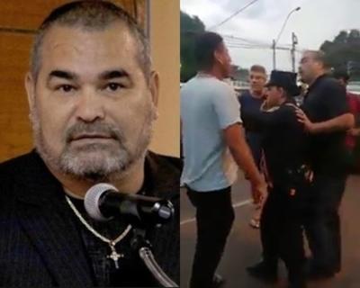 Chilavert le dejó un mensaje a policía que lo defendió tras accidente