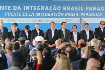 Presidentes de Paraguay y Brasil dan inicio a construcción del segundo puente entre ambos países