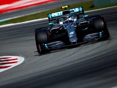 Bottas y Mercedes dominan en los ensayos de Montmeló
