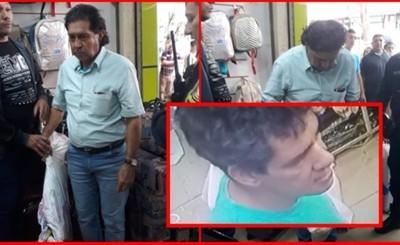 Colombiano detenido por intentar hurtar vaqueros en el microcentro