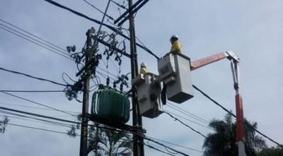 ANDE inicia reposición progresiva del servicio de electricidad tras temporal