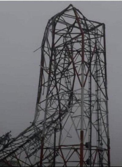 Vientos huracanados afectaron zonas de Villeta y Nueva Italia