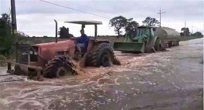 Inundación propina duro golpe a la producción chaqueña