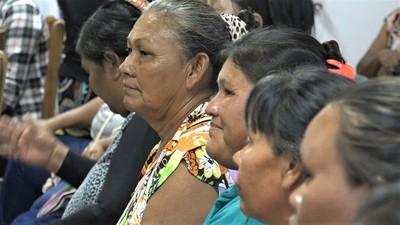 Mujeres indígenas del Chaco toman protagonismo