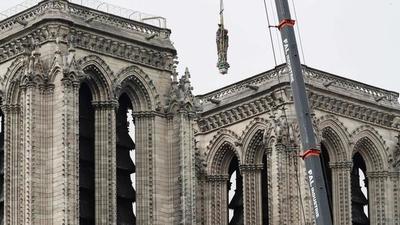 Las obras de Notre Dame dividen a Francia y se lo ponen difícil a Macron