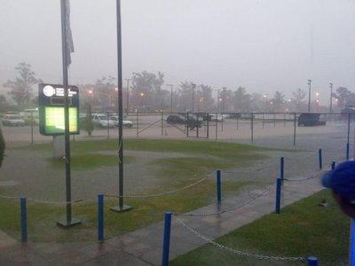 Las lluvias también afectaron a las Formativas