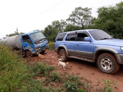 Inundaciones complican asistencia a comunidades del Chaco