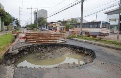 Se necesitan US$ 200 millones para cubrir 100% de desagüe en Asunción