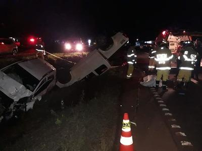 Accidente de tránsito deja un muerto en J. E. Estigarribia