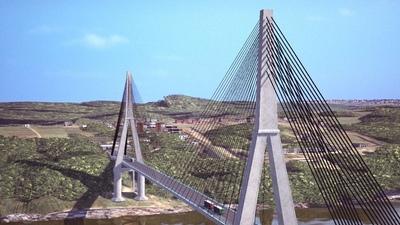 Segundo puente abrirá nuevo corredor de exportación agrícola entre Paraguay y Brasil