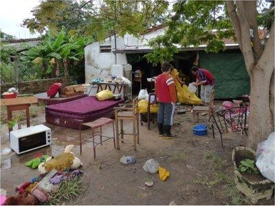Familias  de Pilar protestan porque ollas populares no  alcanzan a todos