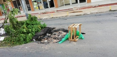HOY / Trampa mortal en Tte. Fariña e Independencia