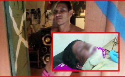Intentó quemar viva a su pareja embarazada