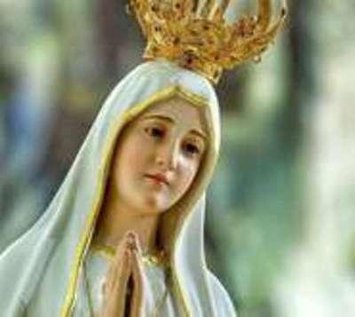 Conmemoran los 102 años de la aparición de la Virgen de Fátima