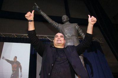 La ovación a Chilavert en el estadio de Vélez