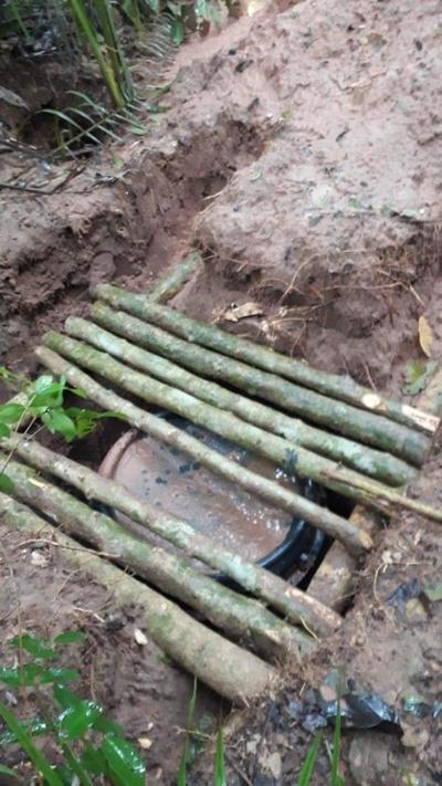 Hallan equipos y armamentos tras enfrentamiento en Horqueta