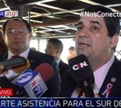 Asistencia para damnificados llegará en barco a Ñeembucú