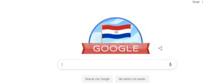Google homenajea a Paraguay