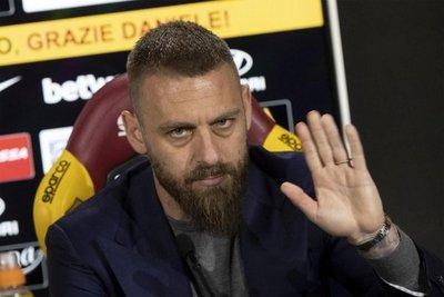 Daniele De Rossi dejará la Roma