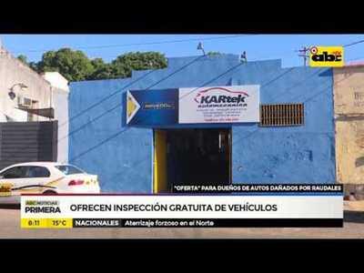 Ofrecen inspección gratuita de vehículos