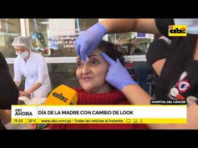 Hospital del cáncer: Día de la madre con cambio de look