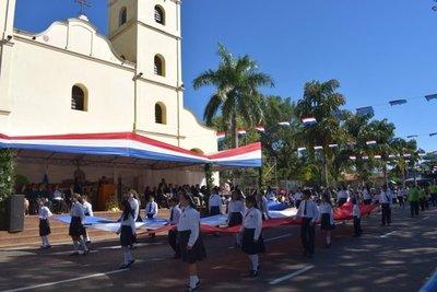 Conmemoran el 294º aniversario de Carapeguá