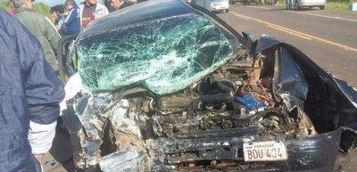 Accidente fatal en Santaní
