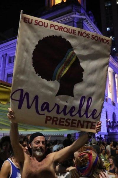 Asesinato de Marielle Franco fue un mensaje, dice su viuda