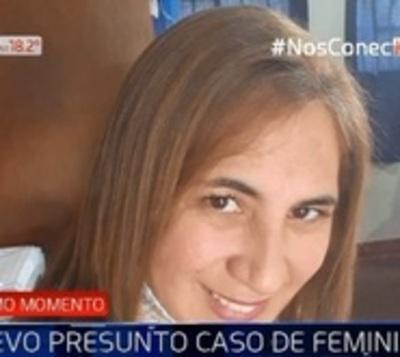 Nuevo presunto caso de feminicidio en Itauguá
