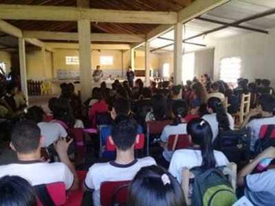Justicia Electoral acompaña a alumnos para conformar Centro de Estudiantes